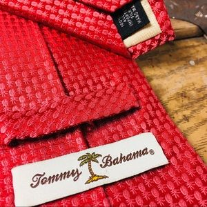 Tommy Bahama Pink Pattern Mens Tie